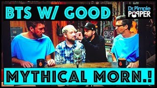 """Behind The Scenes: """"Pimple Popping"""" on Good Mythical Morning!"""