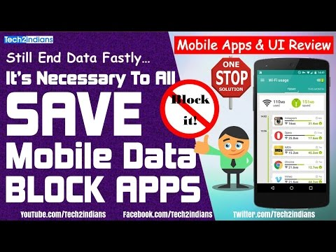 Blocking Background Android Apps And SAVE Internet Data | Branded Apps | Must Watch & Install