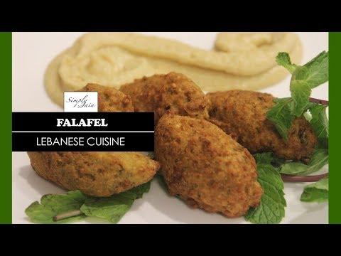 Falafel | How To Make Jain Falafel | Lebanese Cuisine | Simply Jain