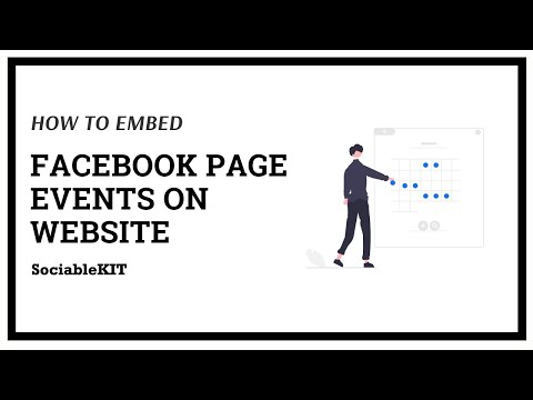 How to Embed Facebook Page Events on Website?