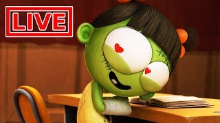 Funny Animated Cartoon | Spookiz LIVE 🔴 | Love At First Sight | 스푸키즈 | Cartoon for Children
