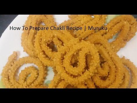 Chakli recipe / Muruku - Akki hittina chakli in Kannada part1