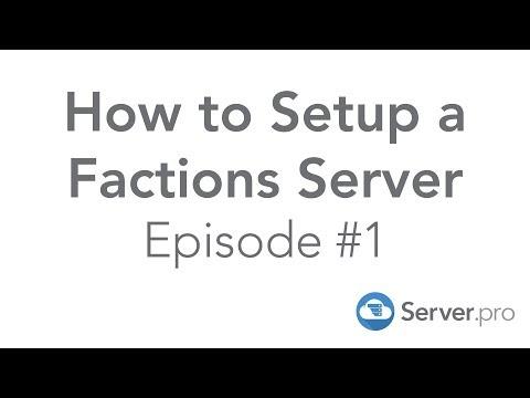 How to Setup a Factions Server | Episode 1 - Server.pro