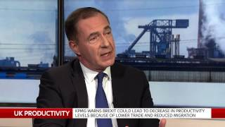 KPMG BOSS tells Ian King Live why Brexit could damage productivity