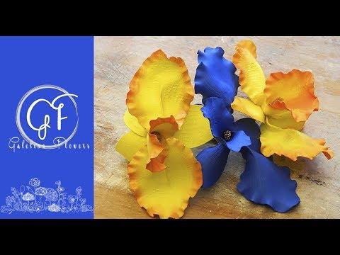 DIY Foamiran (EVA FOAM) Orchid,  Complete Step-By-Step Video Tutorial