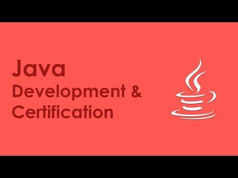 Java Development Training   Java Development Certification - Introduction