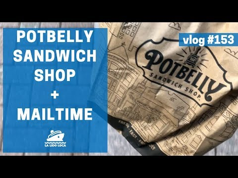 Potbelly Sandwich Shop + Mail Time - vlog 153