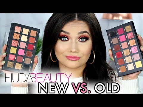 HUDA BEAUTY REMASTERED ROSE GOLD Palette | OLD VS. NEW Comparison Review