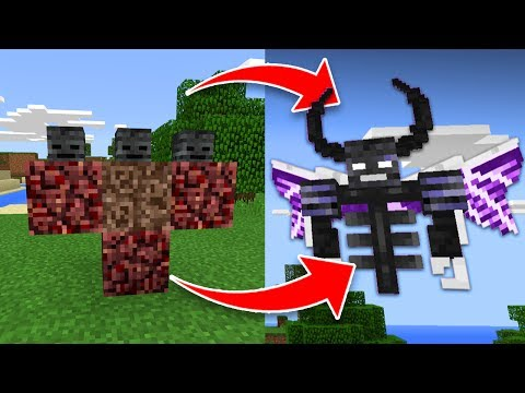 How to Spawn the Wither DEMON BOSS in Minecraft Pocket Edition