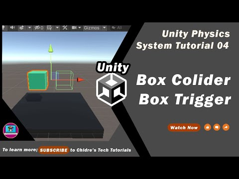 Unity Physics System Essentials - 04 - Box Collider & Box Trigger | All properties explained