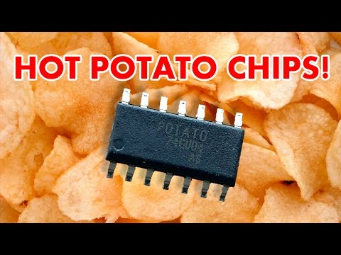 Fun with 1.1GHz Potato chips