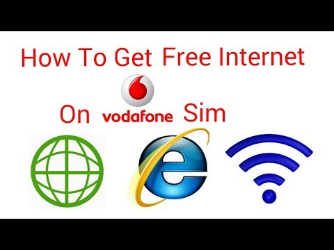 How to get free 3g data in Vodafone 100% working