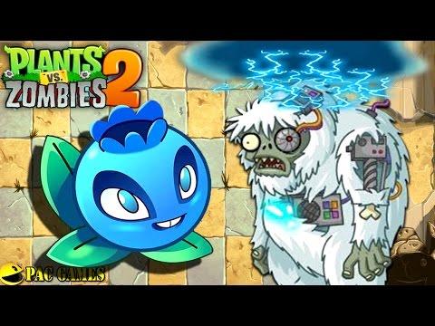 Plants Vs. Zombies 2 - Electric Blueberry Vs Yeti