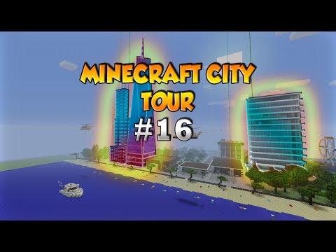 Minecraft City Tour #16