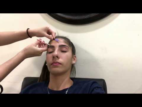 Do not use nair for your face | eyebrow waxing