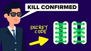 CIA Spy Techniques: The Shoelace Code and Other Secret Spy Techniques