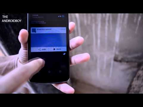 Android Quick Tips:How to take screenshot on android lollipop 2015 !