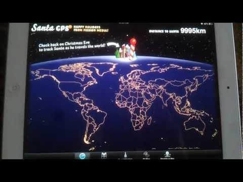 Santa GPS 2.0 Review for iPad