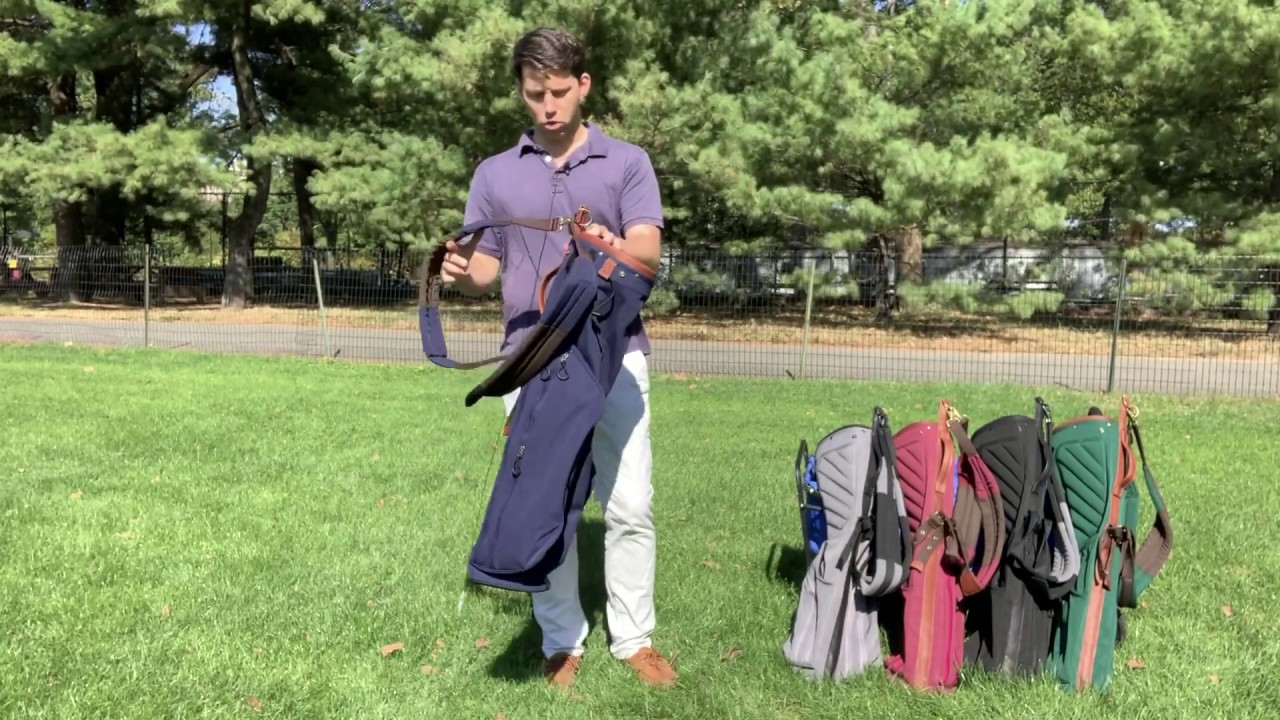 SHAPLAND golf bags - Sunday bag overview