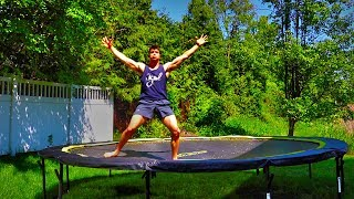 It Was On A Trampoline | But Still XD