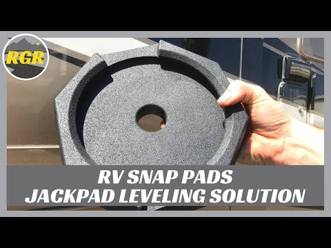 RV SnapPad Permanently Attached Leveling Jack Pad | Product Review