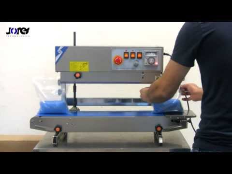 JORESTECH CBS-730 UNIVERSAL CONTINUOUS BAND SEALER FOR GENERAL BAG SEALING APPLICATIONS