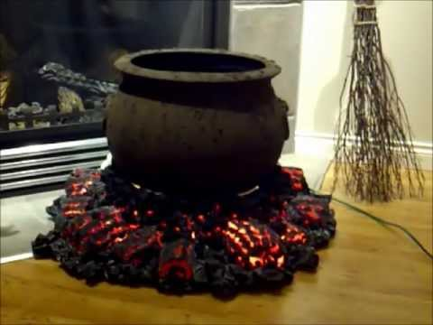 Halloween Cauldron and Fire Pit (Start of first project for Halloween 2012)