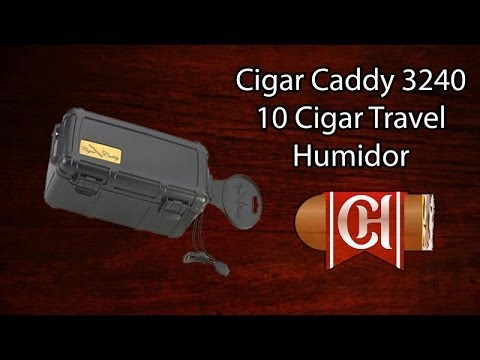 Cigar Caddy 3240 10 Cigar Travel Humidor
