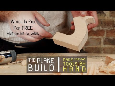 Build Your Own Wooden Hand Plane (Intro)