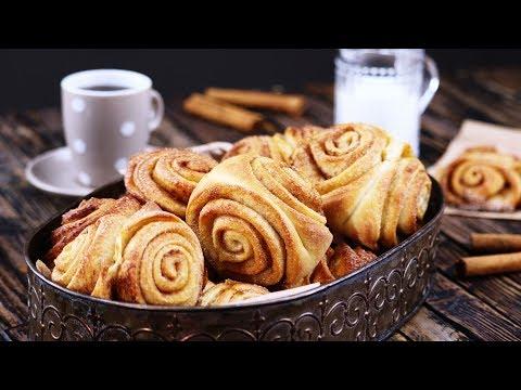 Cute little rolls of sweetness: German Cinnamon Swirls