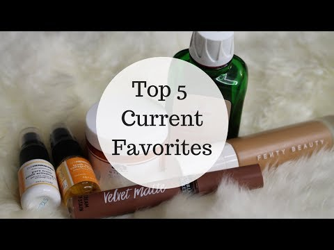 REVIEW: Current favorites | Skincare during pregnancy