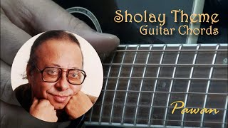 Sholay Theme Music - Guitar Chords Lesson