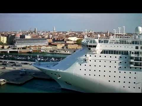 Venice Italy Cruise Ship terminal by jonfromqueens