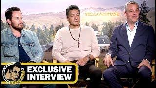 Danny Huston, Gil Birmingham & Cole Hauser YELLOWSTONE Interviews! (JoBlo.com Exclusive)