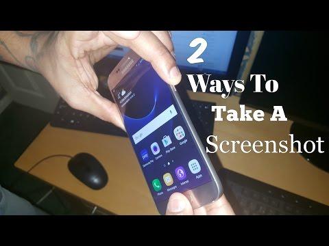 Samsung Galaxy S7/S7 Edge 2 Ways To Take & Share A Screenshot DEMO!