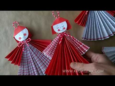 How to make  paper doll ?