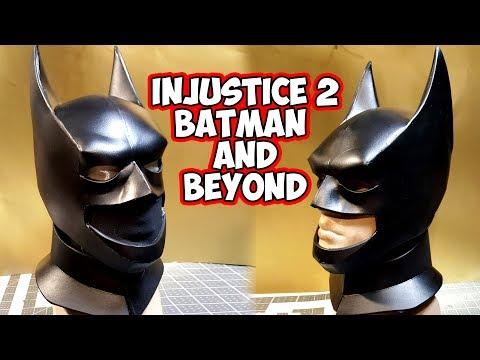 Injustice 2 Batman and Beyond foam cowl
