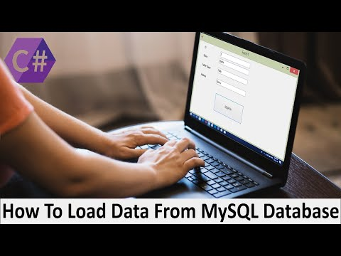 How To Load Data From MySQL Database And Set Into TextBox In C# with [source code]