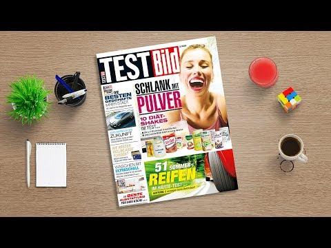 Jetzt in der neuen TESTBILD: Zehn Diät-Shakes im Test