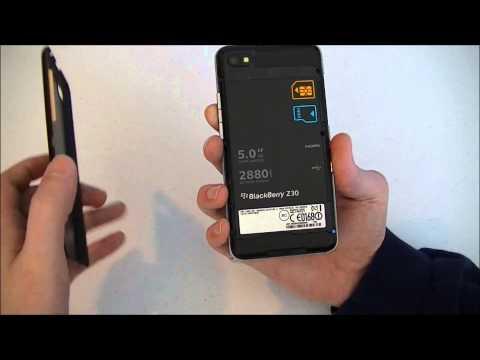 BlackBerry Z30 (Verizon) In Action