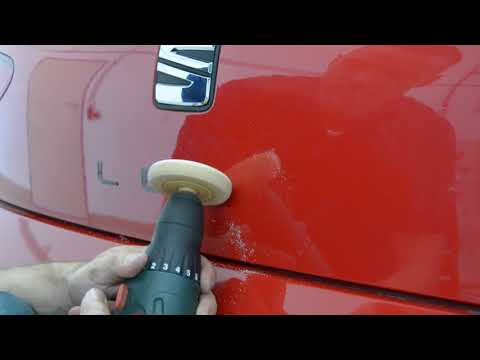 How to remove double sided tape from car
