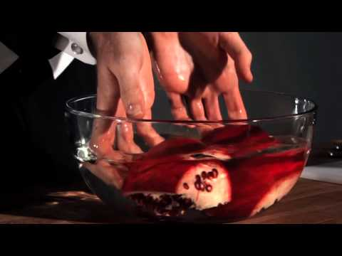 How to Open a Pomegranate in Six Movements
