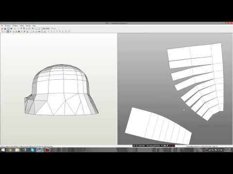 Transform a Paper Pepakura File to a Foam tut