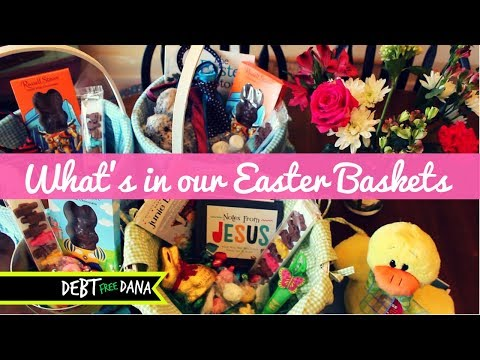 What's in our Easter Baskets 2018