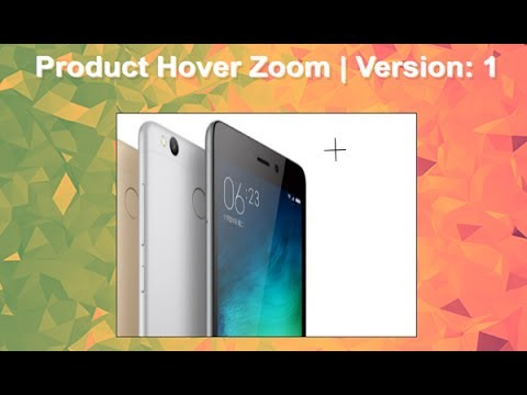 Product Hover Zoom Using Jquery + Css, Magnify Photo, Jquery Image Effects, Mouse Hover Zoom