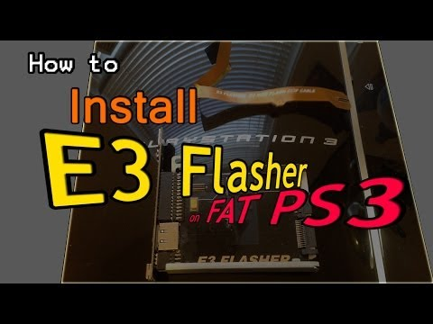How to Install E3 Flasher on Fat PS3