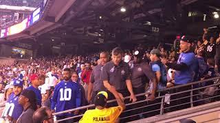 Giants Steelers 1st FAN FIGHT 2017 part II