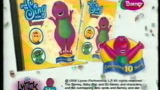 Opening To Sing & Dance With Barney 1999 VHS