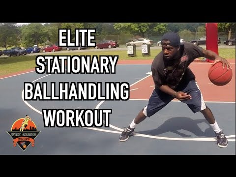 Get Faster Handles ! | Stationary Ballhandling Drills ELITE WORKOUT SERIES