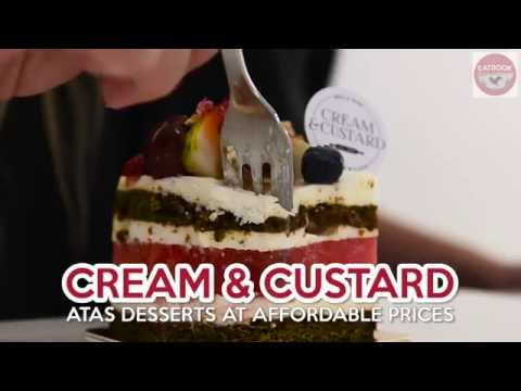 Cream & Custard - Affordable And Atas Desserts In Tiong Bahru